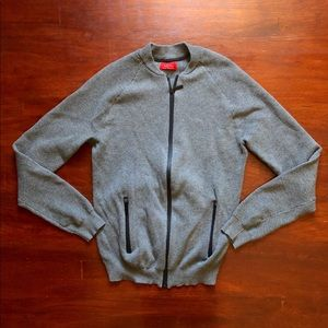 Zara zip up sweater